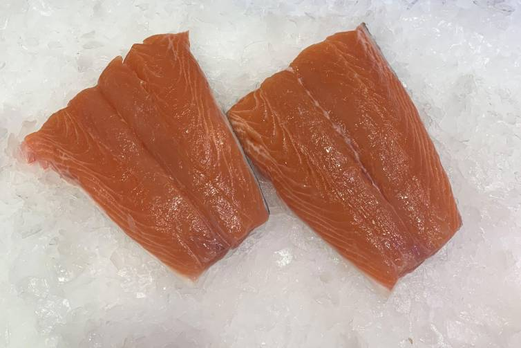 Salmon tails
