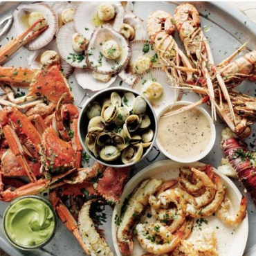 Dinner Party Seafood Platter